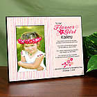 To Our Flower Girl Personalized Printed Frame