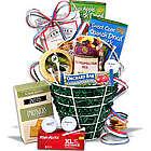 Men's Golf and Snacks Gourmet Gift Basket