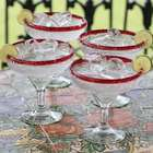 Ruby Afternoon Margarita Glasses