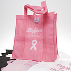 Pink Ribbon Reusable Bag