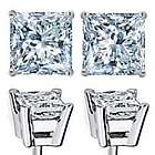 1.25 Carat Diamond Stud Earrings