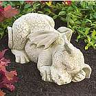 Sleeping Dragon Garden Statue