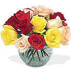 Garden Rose Bowl Bouquet