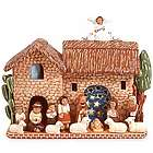 Ceramic Peruvian Nativity Scene