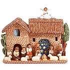 Ceramic Peruvian Nativity Scene