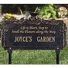 Personalized Butterfly Poem Garden Sign