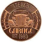 Vintage Car Personalized Garage Sign