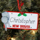 New Driver Personalized Ornament