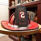 Rustic Metal Fire Chief Hat