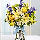 Sweet Baby Boy Floral Arrangement
