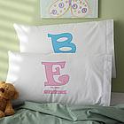 Alphabet Name Personalized Pillowcase