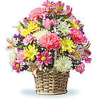 New Basket of Cheer Bouquet
