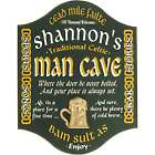 Personalized Traditional Celtic Man Cave Sign