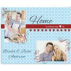 Home is Where the Heart Is Glass Photo Cutting Board