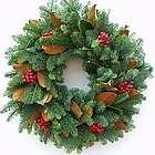 Jolly Christmas Noble Fir Wreath