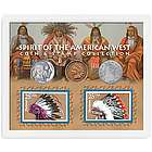 Spirit of the American West Coin and Stamp Collection