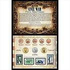 Civil War Coin and Stamp Collection