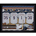 Personalized Detroit Tigers MLB Locker Room Print