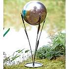 Cattail Stand for Gazing Ball Outdoor Statue
