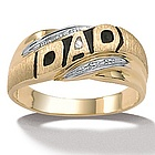 Men's 10k ''DAD'' Ring