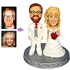 Personalized Western Wedding Cake Toppers from Your Photos