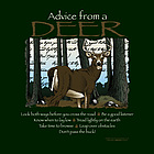 Advice From a Deer T-Shirt