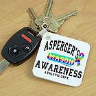 Asperger's Awareness Athletic Department Key Chain