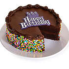 Gourmet Chocolate Happy Birthday Cake