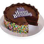 Gourmet Chocolate Happy Birthday Cake