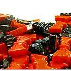 Black and Orange Ding Bats Candy