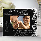 Personalized Wedding Couple Mini Picture Frame Favors