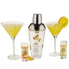 Stoli 5 Piece Glass Cocktail Bar Set