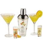 Stoli 5 Piece Glass Cocktail Bar Set