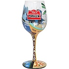 Chicago Wine Glass