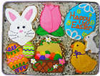 Easter Morning Sugar Cookie Gift Tin
