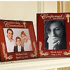 Personalized Cherry Wood Communion Frame