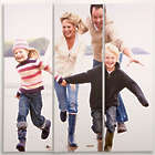 Personalized 12x36 Split Photo Canvas Prints