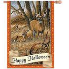 Halloween Flag with Deer