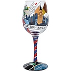 New York Wine Glass