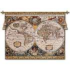 Antique Map Geographica Tapestry Wall Hanging