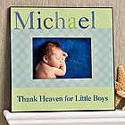 Personalized Baby Boy Just For Them Picture Frame