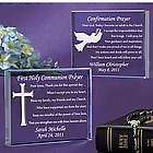Personalized Communion or Confirmation Plaque