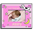 Personalized Girl's Cow Jumping Over the Moon Picture Frame
