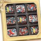 Patriotic Crispy Rice Bars Gift Box