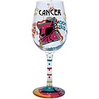 Cancer Wine Glass