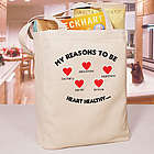 Heart Awareness Tote Bag