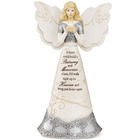 Ceramic Memorial Angel with Dove