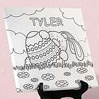 Personalized Color Me Easter Canvas