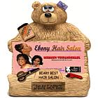 Teddy Bear Hairdresser Business Card Holder