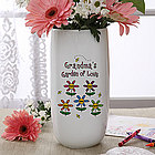 Garden of Love Personalized Vase